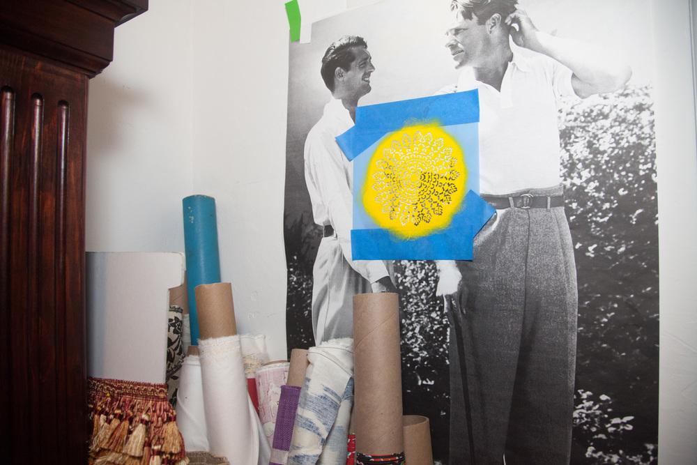 Studio of Artist René Treviño. Baltimore, MD