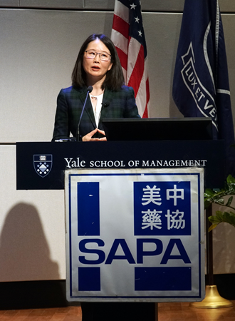 Shirley Zhao, MD, MBA, General Manager & President of China Mainland & HK, Bristol-Myers Squibb