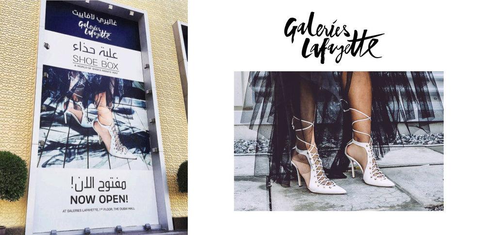 Galeries Lafayette Shoe Box Campaign