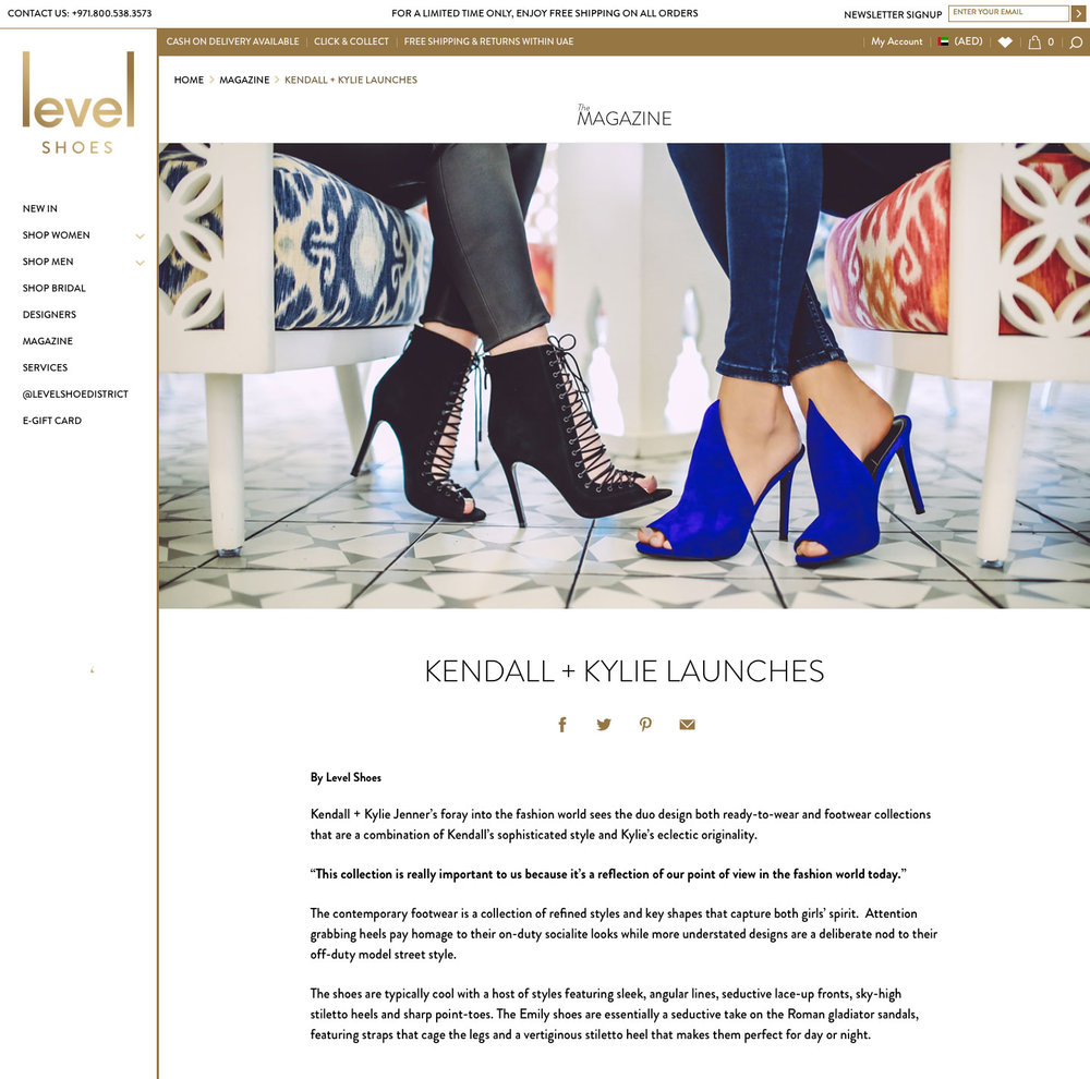 Level Shoes Magazine