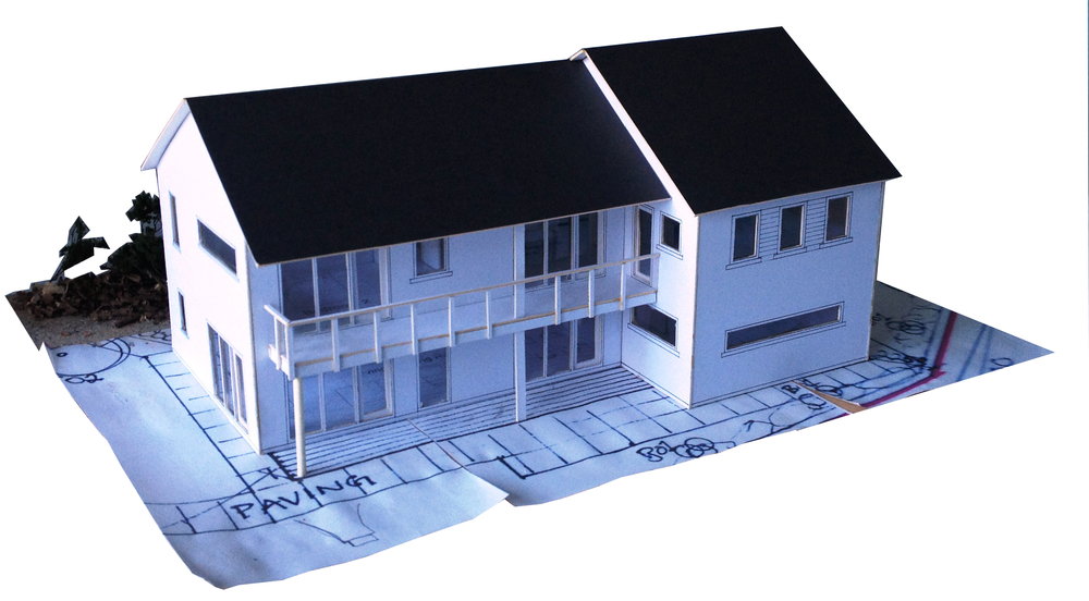 Student model of Passivhaus standard dwelling (WT4006).