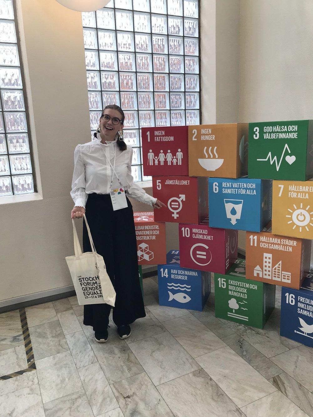 Vendela och FNs 17 globala mål