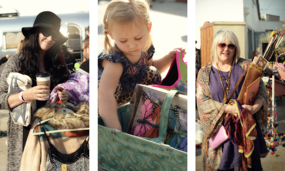 Sequins, butterflies and a quiver full of arrows are just a few of the finds from this weekend.