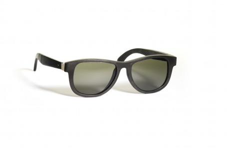"If you grew up surrounded by Danish modern furniture like we did, you began appreciating sleek wood with metal accents at a very early age. So when we saw these Ran-Ban-style sunglasses, handmade from Teawood in an understated shade of black, we wanted them instantly. If ""cool"" is the vibe you're going for, you can't do any better than  Waiting For The Sun 's shades. It's like they're the glasses you were born to wear. Get them  here ."