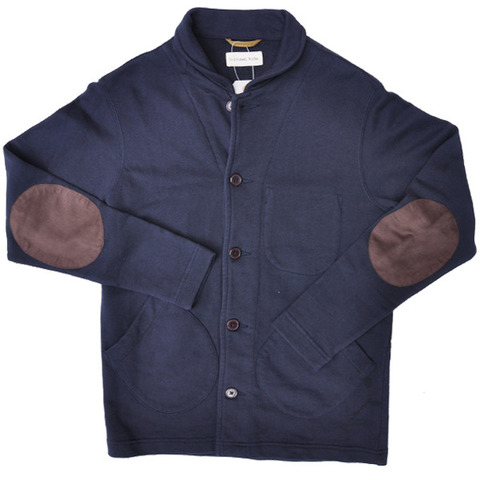 It's no secret that we at RYE & RIVET love elbow patches. It's a love that we will, in all likelihood, beat you over the head with for many, many posts. But that said, we love this stadium jacket by  Universal Works  for (gasp!)  more  than just its dashing elbow patches. The symmetry, the slightly-preppy breast pockets, the casual, comfortable collar… the list goes on and on. But what we perhaps love  most  about it is that it's so versatile– polished enough for the workplace, yet unpretentious enough for the stadiums for which it was named. It's basically the best of all possible worlds. Get it  here .