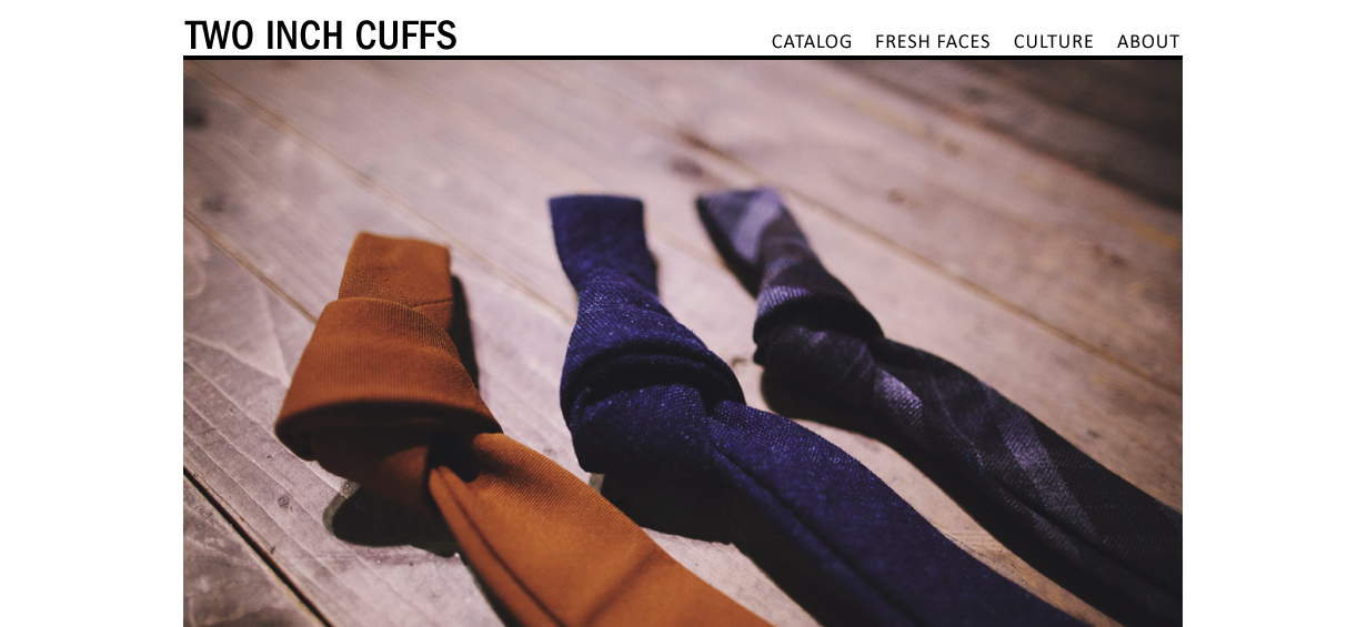 New feature I wrote up over at  Two Inch Cuffs . Head on over to check it out  here .
