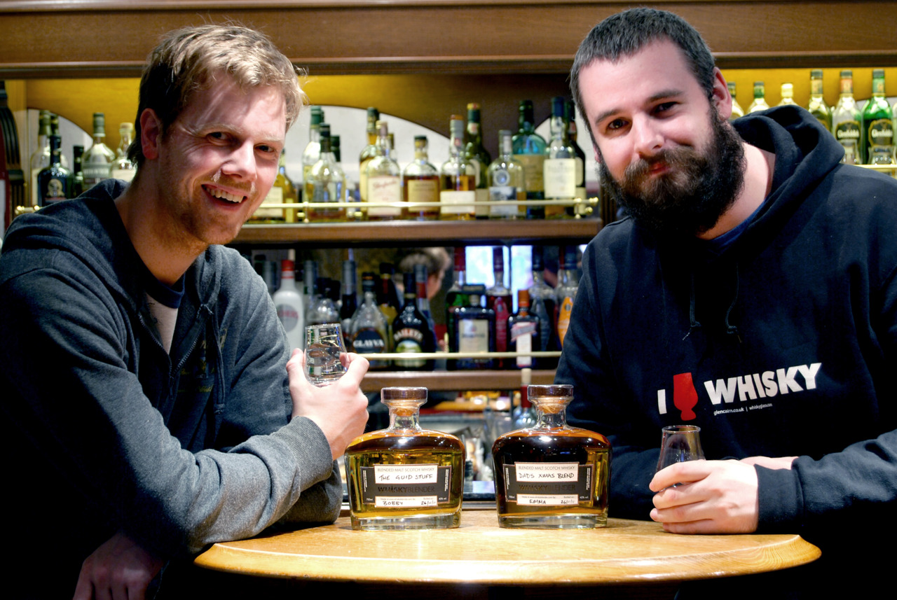 SPOTLIGHT ON: Drew Nicolson & Andy Davidson of  Whisky Blender