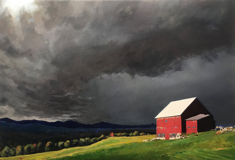 "Before The Storm      24"" x 36""    Oil on Canvas"