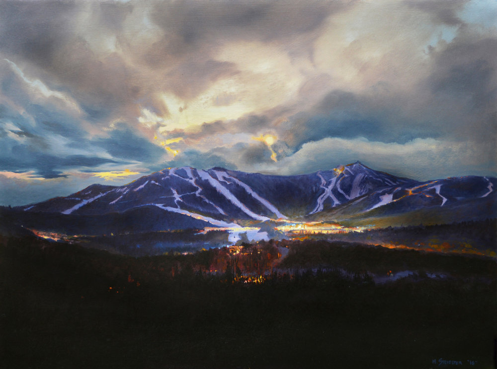 "Stratton      18"" x 24""        Oil on Panel"
