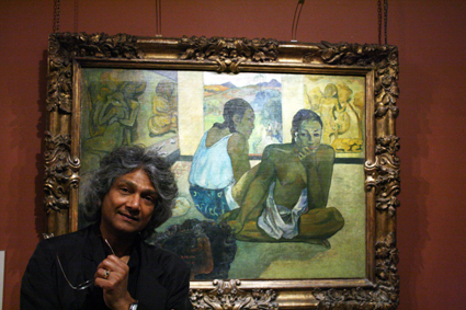 Romesh at the Courtauld gallery