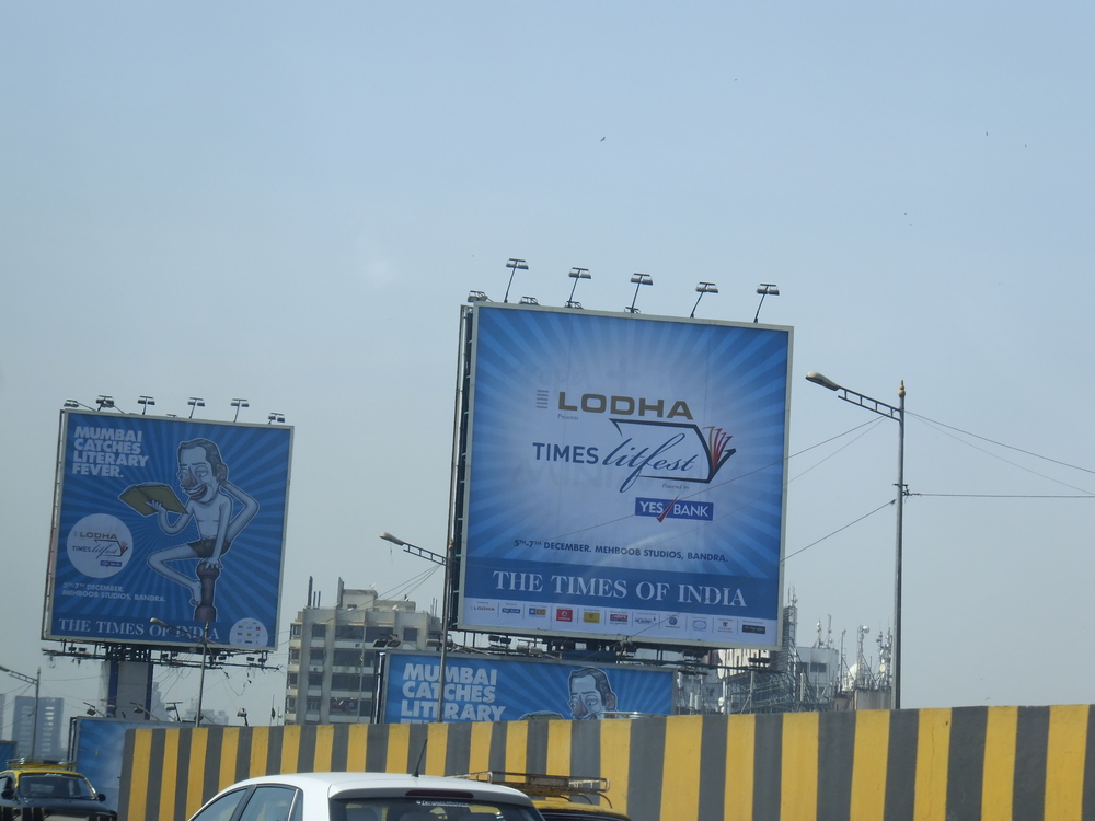 Festival billboard