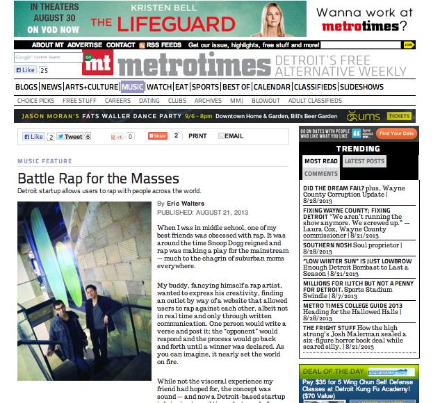 Stevie Soul Metro Times Detroit