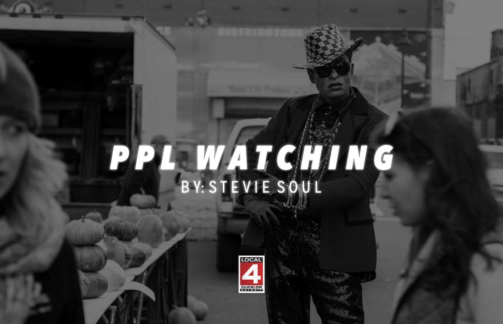 Stevie Soul PPL Watching Eastern Market NBC