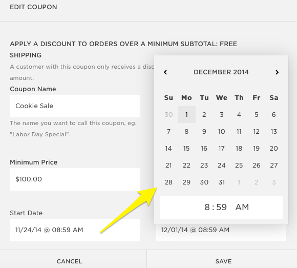 Squarespace coupon code