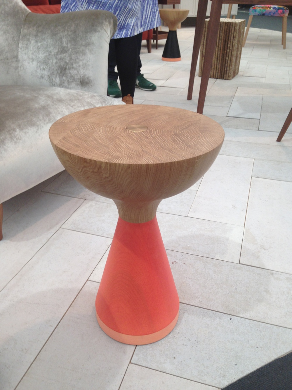 Great Russell Pinch stool from  Pinch Design  at Tent.
