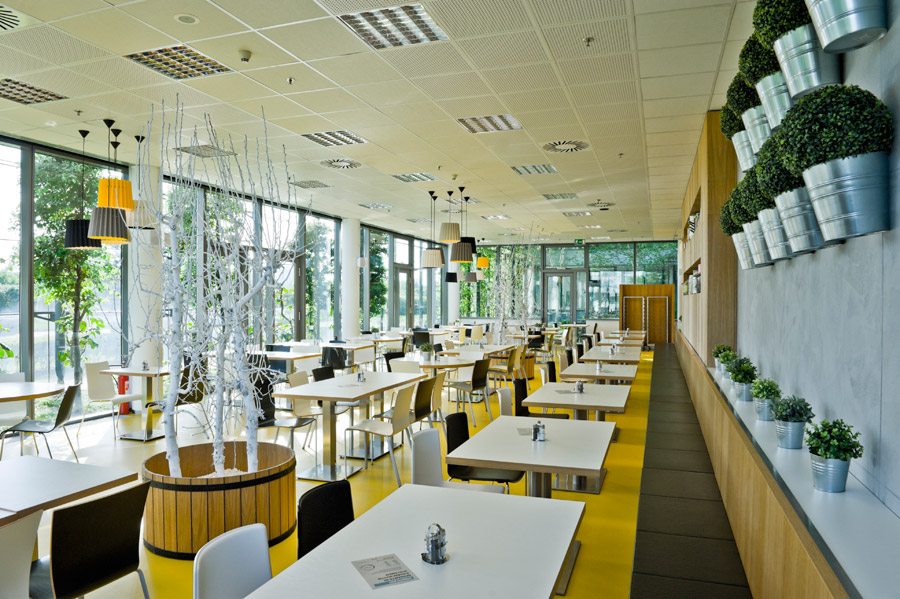 Twin Tone Lampshades Presto Restaurant Prague 7.jpg