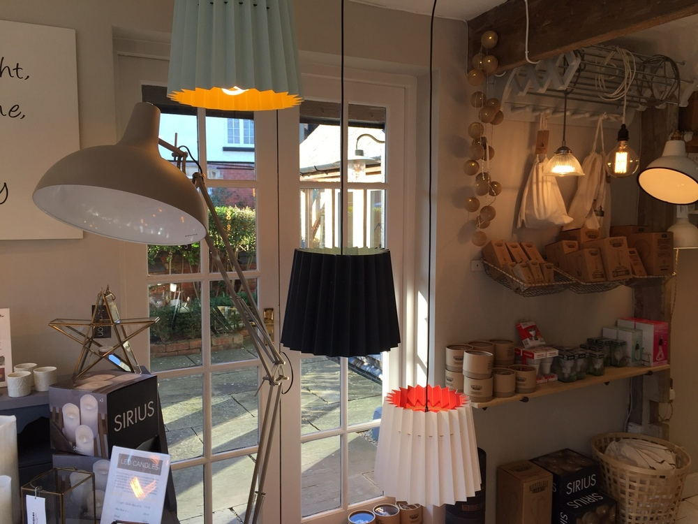 Lane Twin Tone Lampshades at Lumison Lighting