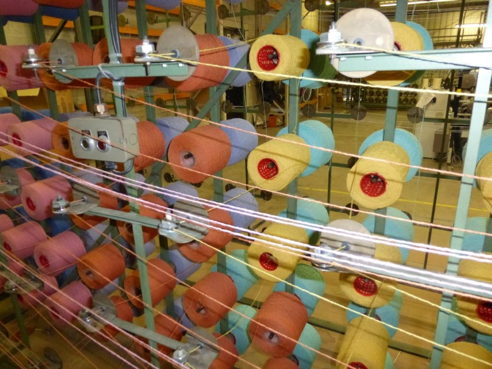 Bute's 'Tutti Fruitti' Tweed. Image courtesy of  Bute Fabrics .