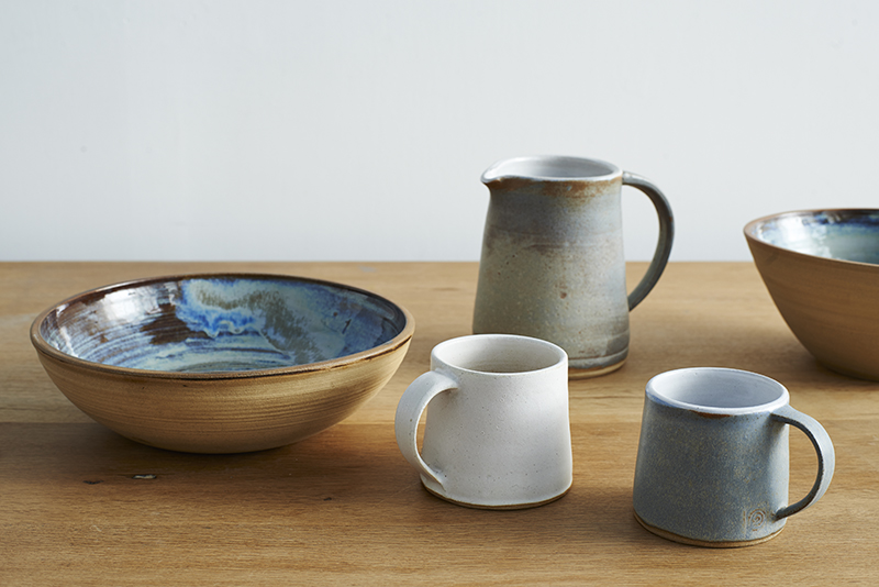 Lane & Parkwood Pottery hand made stoneware ceramics