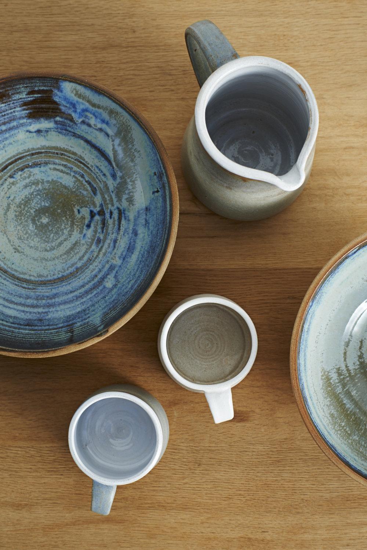 Lane & Parkwood Pottery stoneware ceramics