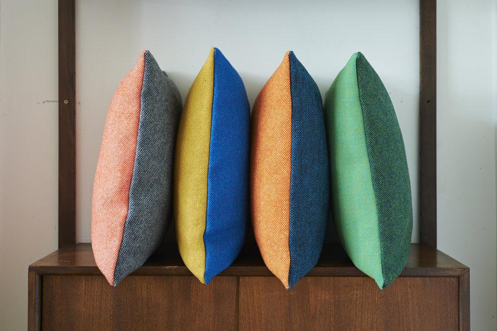 Lane tweed Twin Tone Cushions, £65
