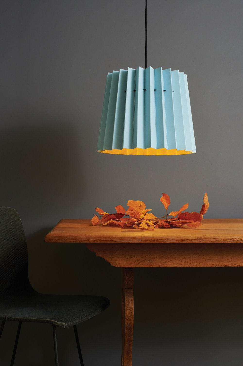 Lane & Little Greene Twin Tone Lampshade - Brighton & Mr David