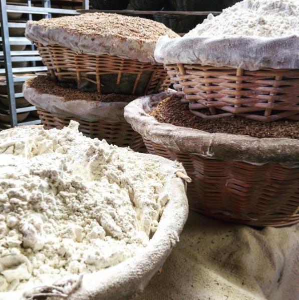 Flour from @dellafattoria's Instagram