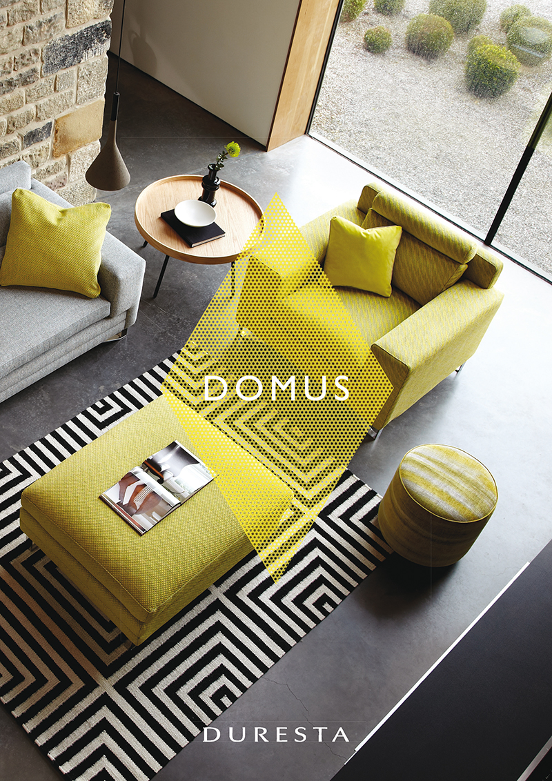 Front over of Duresta's 'Domus' Catalogue
