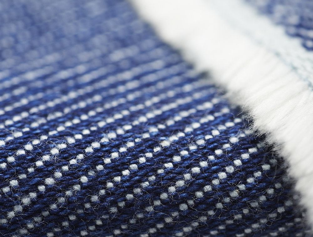 Lane x London Cloth Indigo Weave