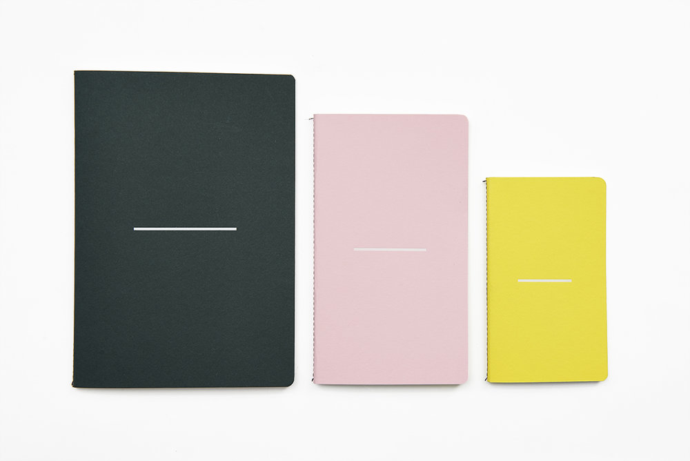 Lane Twin Tone Notebook Set Racing Green Candy Pink Factory Yellow LR.jpg