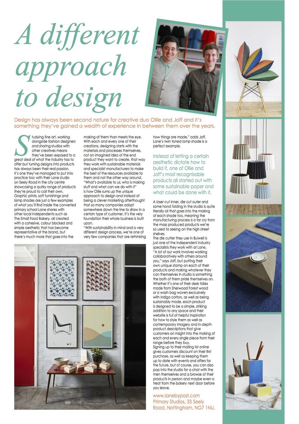 Aspect Magazine, August 2017