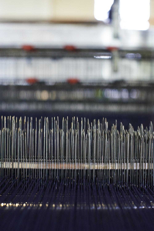 London Cloth - Detail weaving