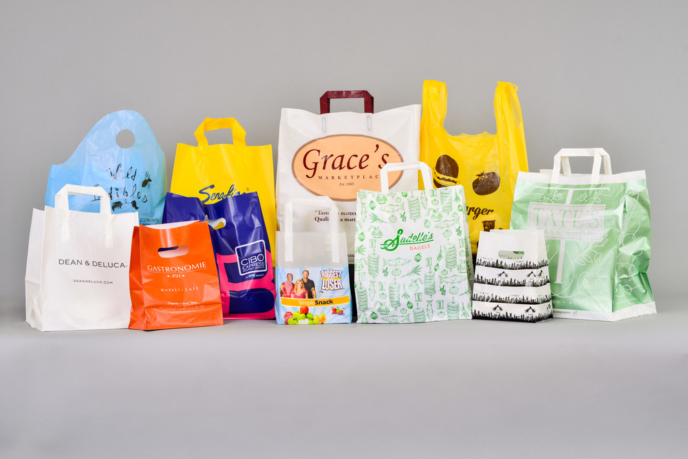 plastic totes, t-shirt bags and die-cut bags for the gourmet and food service industry. CPI Packaging creates the perfect take-away for your food business.