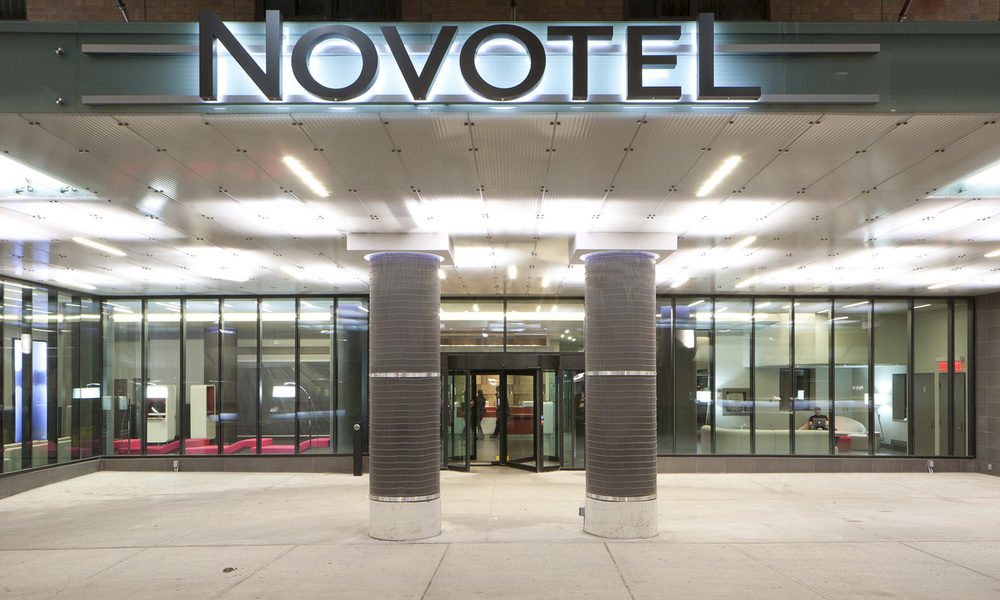 Novotel Hotel Lobby and Canopy Renovation