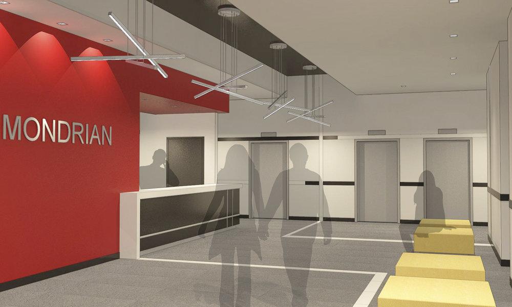 The Mondrian Lobby