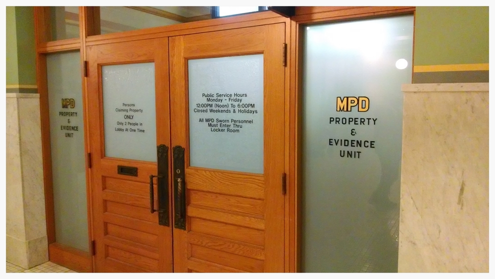 "Oh, the adventures in the evidence room! (""Terrance Donaldson: Part 2"", April 16, 2015.)"