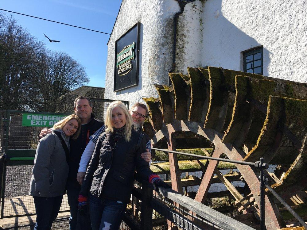 Kilbeggan Distillery tour, Kilbeggan