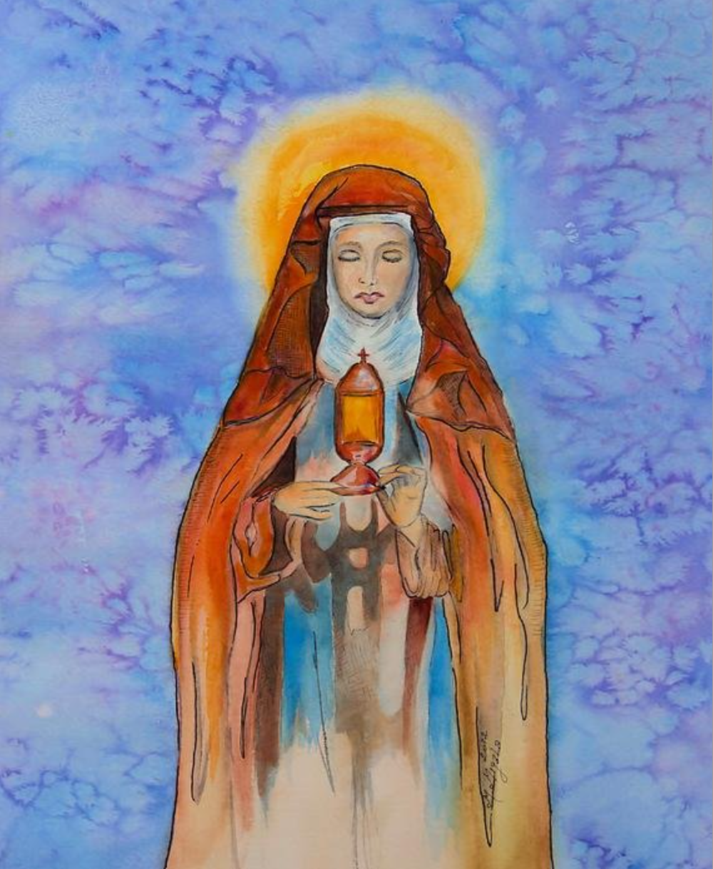 St. Clare of Assisi by: Myrna Migala