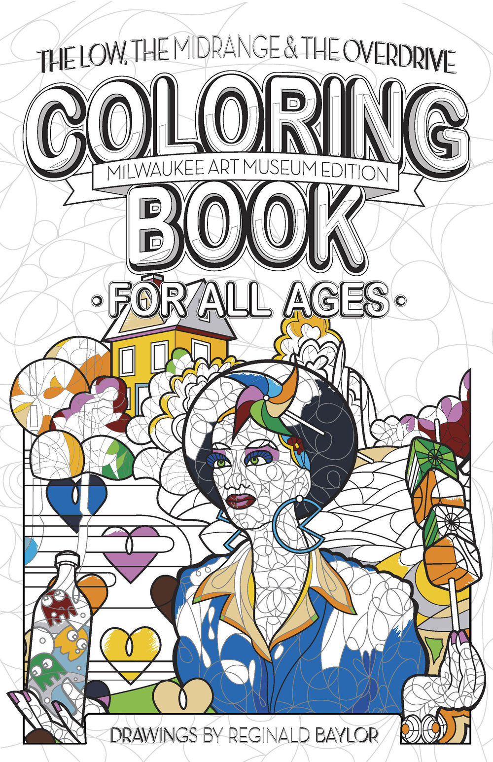 Coloring Book Store — Reginald Baylor Studio