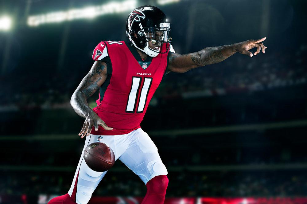 FEATURED SHOOT - Atlanta Falcons