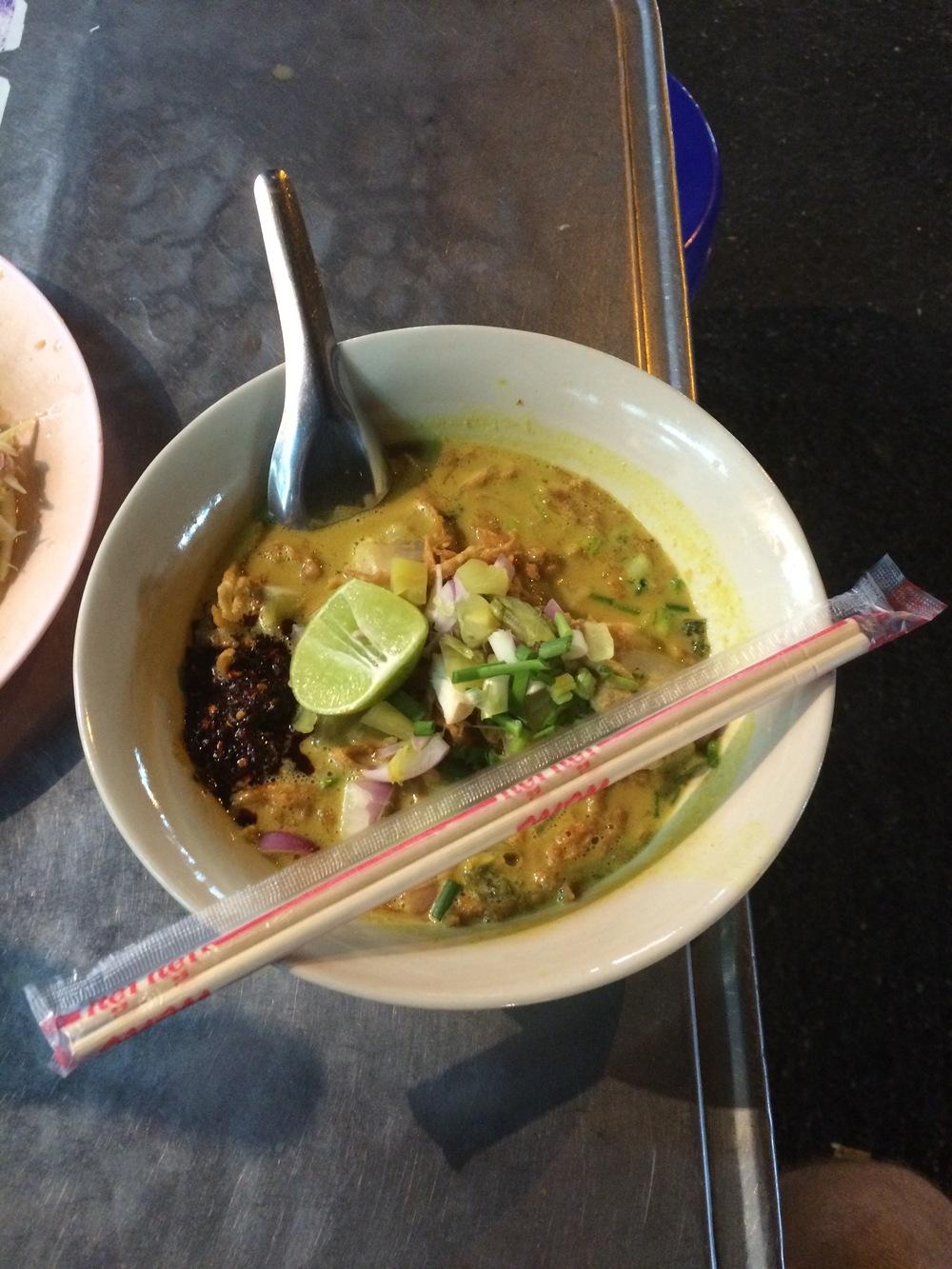 Pork Curry Noodles
