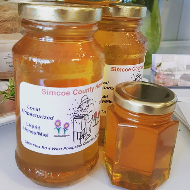 Hey Honey !! Have you picked me up some honey?  Fresh & Available at the @astilbe.marketplace  #shoplocal #familybusiness #barrieflorist #muskokaflorist #torontoflorist