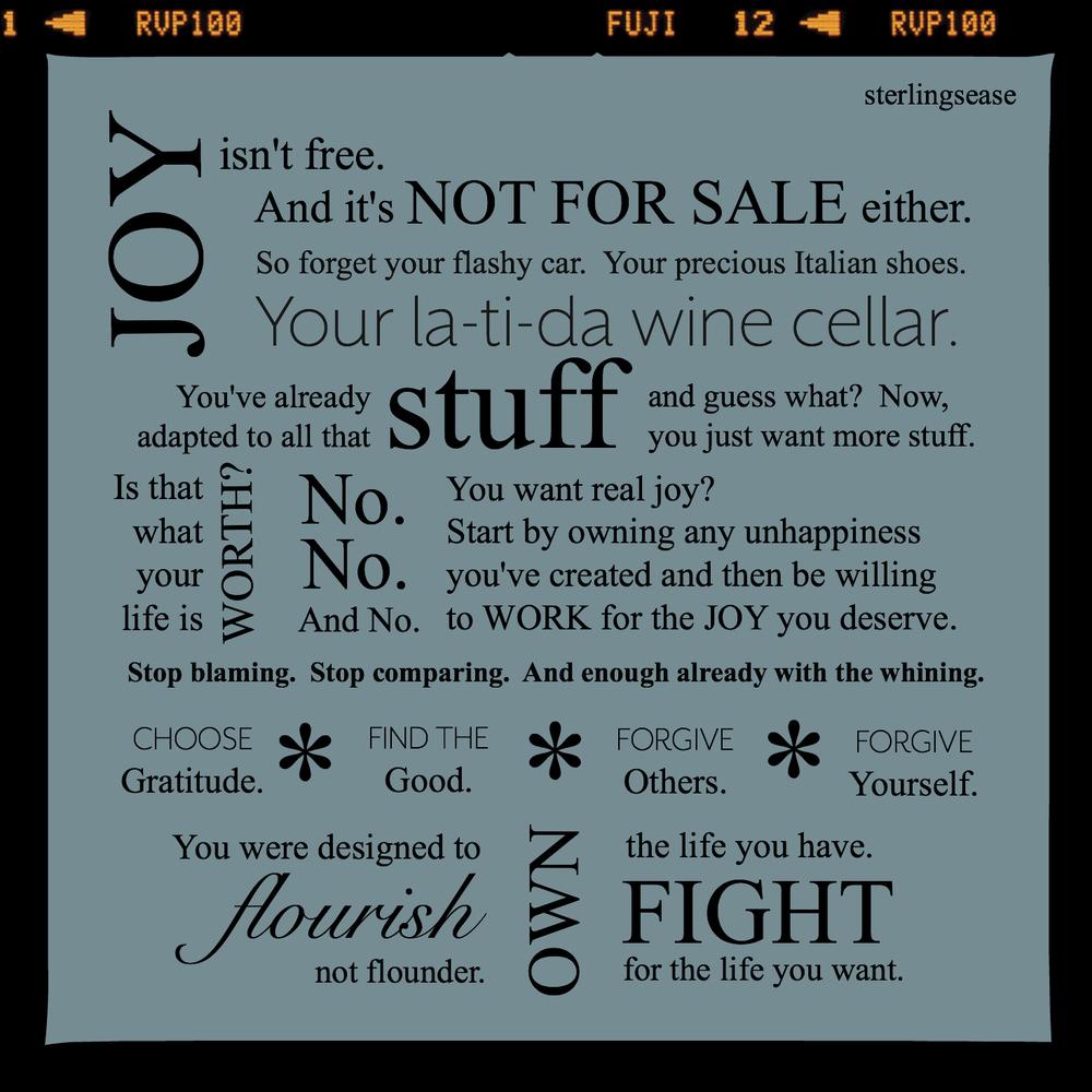 The Joy Manifesto