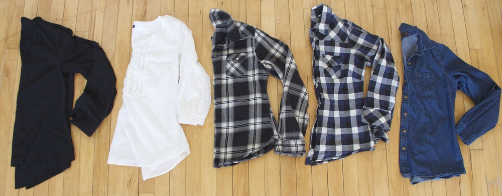 Button Downs: Thrifted