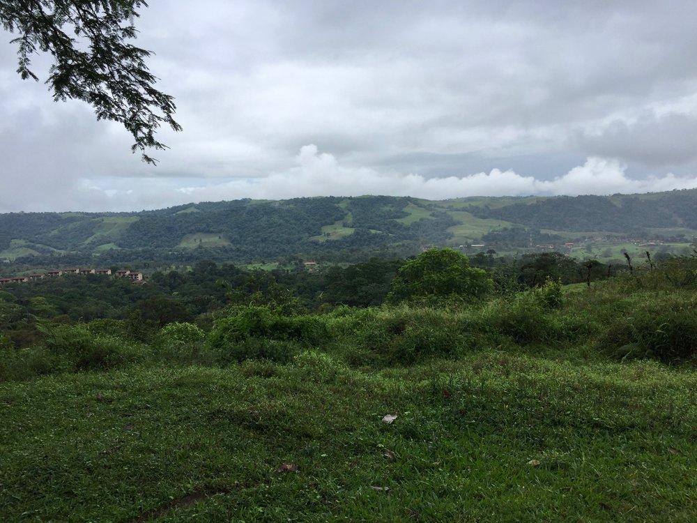 Hills surrounding Arenal volcano