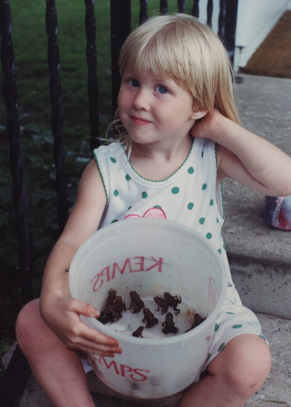 My childhood also included an obsession with toads.