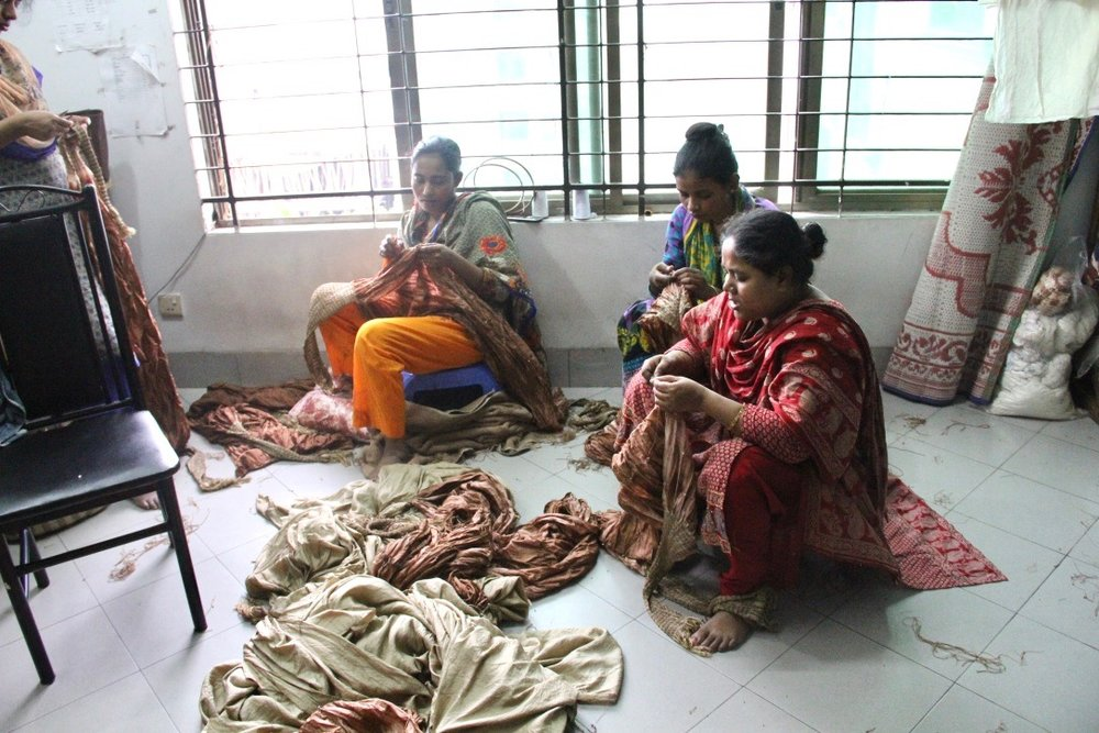 Fair trade factory in Dhaka, Bangladesh Hannah Theisen Life Style Justice