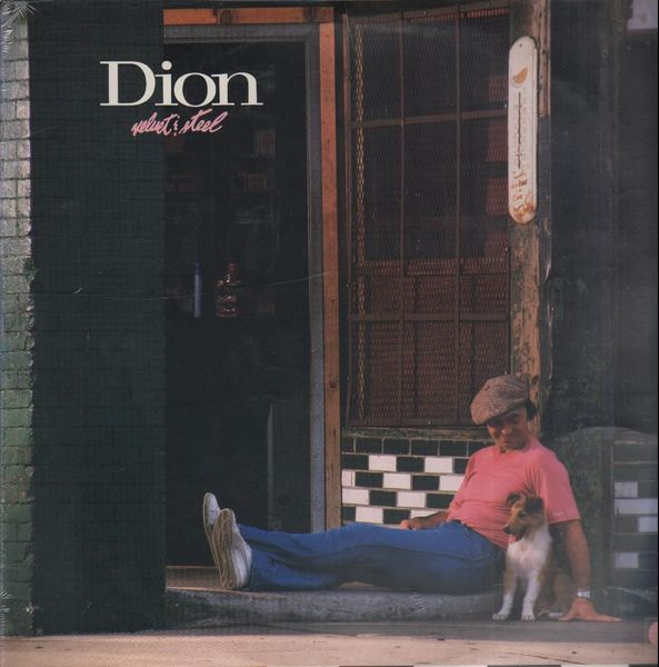 The cover of Dion's Velvet and Steel album.