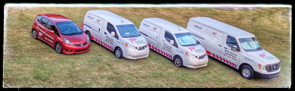 Our Locksmith Fleet is ready to serve your Locksmithing needs