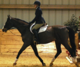 Savannah competing at the University of Virginia during the 2011 IHSA Regional Finals.